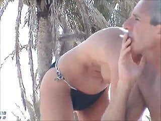 incredible beach topless french girl tunesia