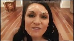 FACES OF CUM Corina Jayden