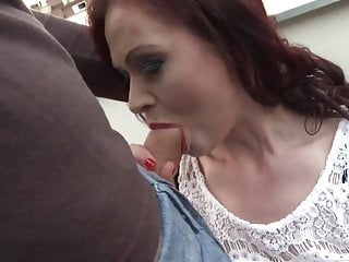 Slut mom suck and fuck big young cock