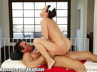 FantasyMassage Asian Nurse Helps with Happy Ending