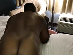 Hubby films BBC fucking me from behind