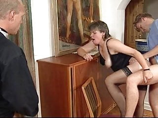 Swedish Gilf Martha Karlsson Fucks The Priest  Scenes
