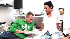 Petite German Cheating Stepmom