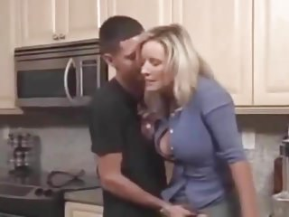 mom janet fucked hard by sons friend after her divorce