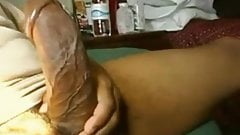 Webcam huge dick fat cock masturbation
