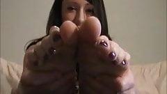 Megan's Foot Tease