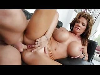 horny and hot mature woman loves anal fuck