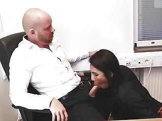 Preview 2 of Ladyboy Thippy - Office facial cum
