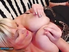 EuropeMaturE Busty Blonde Alisha Solo Play