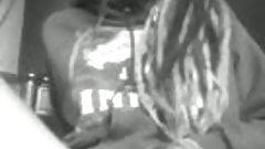 Ebony Babe Masturbates On Floor
