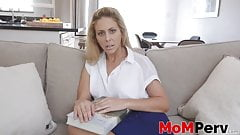 Cherrie Deville gets fucked hard by stepson in POV