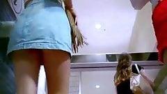 Teen Shorts Miniskirt Upskirt Compilation