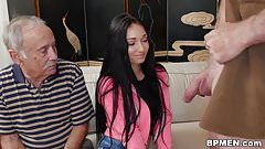 Old Man Fucks Petite Teen Crystal Rae