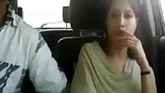 in the car fingering girlie