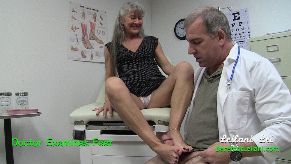 Doctor examines feet trailer 5
