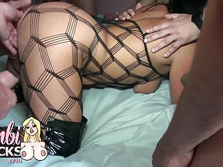 Preview 1 of anal and pussy creampie gangbang