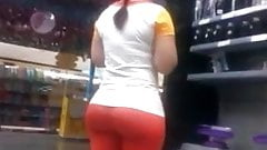 Perfect Ass in Red Pants