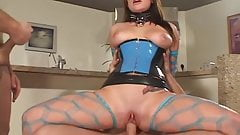 latex loving slut