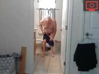 grandpa forgot to close the door