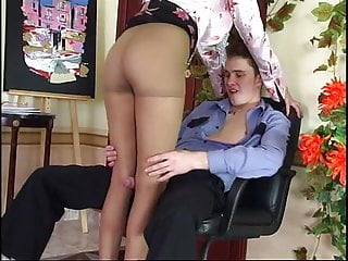 Horny Russian Mature Seduce Police Officer Helena