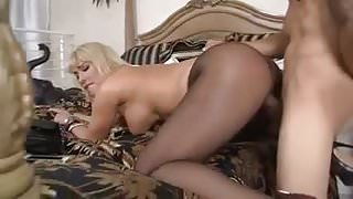 Hot big tit blonde milf
