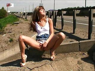 Valentine Lashkeeva(Gina Gerson) - public masturbation