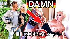 HITZEFREI.dating Blonde German MILF (47) hooked up on street