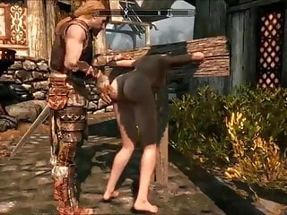 Perils Of Escaped Skyrim Slavegirl