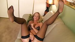 Hot MILF Lady Simone In Stockings Joi #MrBrain1988