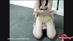 CPL-003- Female Wrestling Hard Facestting Humilation's Thumb