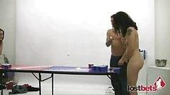 Strip Beer Pong vs Franco,Holly,Dick & Zayda p1