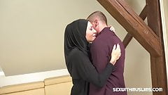Muslim girl caught texting another guy gets hammered