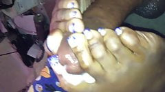Designer Toes Footjob