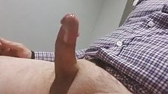 Cumming in the mens room at work