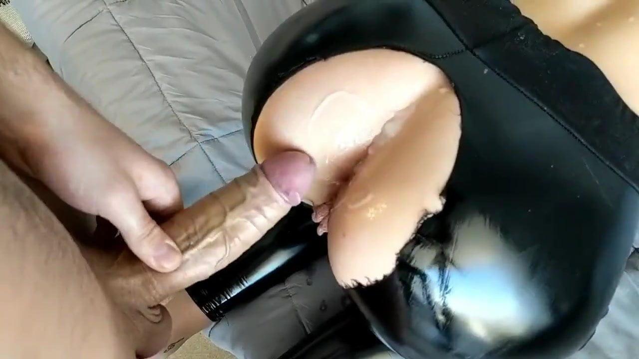 Leather leggings porn