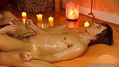 Stroking And Relaxing Cock Massage