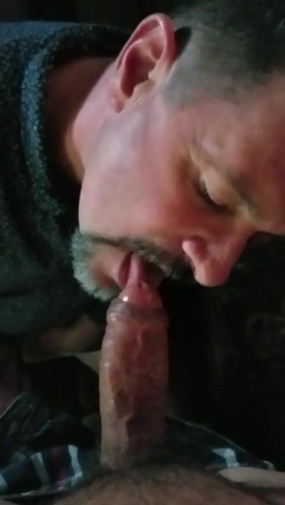 Uncut blowjob video