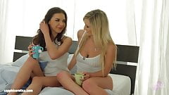 it`s very HOT  Morning by Sapphic Erotica - Henessy and Jemma Valentine