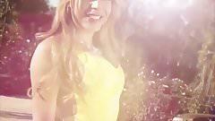 Yellow Dress Outdoors T-Girl