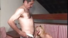 Husband and friend both fuck wife