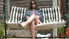 flashing on swingseat outdoors