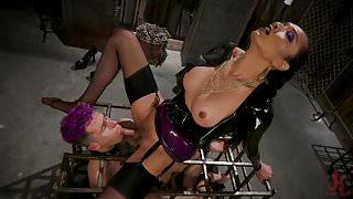 Jessica Fox Makes Corbin Dallas a Dungeon Anal Whore