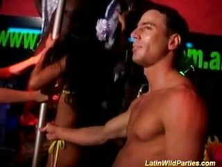 Latin wild parties babes getting pussy fucked and oral