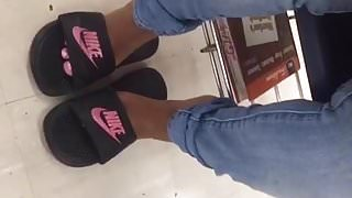 Cute Black Teen Feet