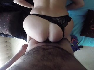 Anal and cum inside ass