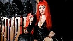 Smoking Nipple Torture