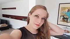 Teen Crossdresser Prom Dress And Stockings
