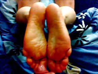 Feet Cum Compilation - 10 Cumshots on soles
