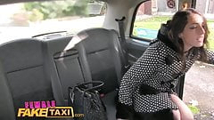 Female Fake Taxi British Spani