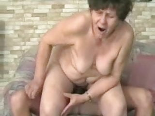 BBW FAT GRANNY FUCKED BY A YOUNG STUD PART 1